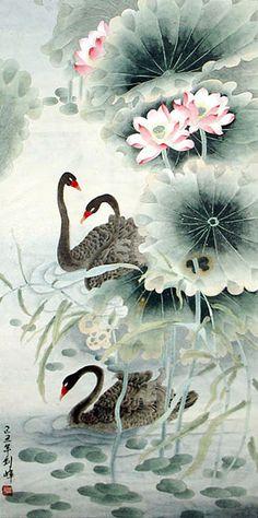 http://www.inkdancechinesepaintings.com/swan/picture/2336098.jpg