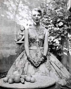 Christa Päffgen (a.k.a. Nico) photographed by Herbert Tobias, 1956.