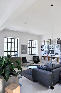 Un loft à Copenhague | PLANETE DECO a homes world
