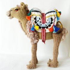 camello amigurumi pagina japonesa