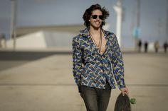 Camisa Ouassa-k. Foto Martín Ramiro, modelo Pol Allan