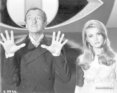 Casino Royale - Publicity still of David Niven & Barbara Bouchet. The image measures 2691 * 2146 pixels and was added on 12 January 007 Casino Royale, Thomas Roberts, Barbara Bouchet, Britt Ekland, David Niven, Film Posters, James Bond, Ford, Culture