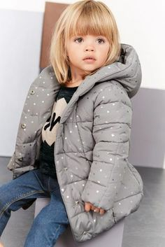 Star Print Padded Jacket (3mths-6yrs)