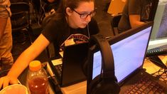 Students gain coding experience alongside pros at hackathon; Indie Galactic Space Jam 2017
