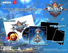 BlazBlue: Chrono Phantasma Limited Edition Coming West with Exclusive Goodies