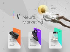 Neuro Marketing designed by Cosmin Capitanu. Connect with them on Dribbble; the global community for designers and creative professionals. Site Web Design, App Ui Design, Interface Design, Logo Design, Homepage Design, Web Design Trends, User Interface, Mise En Page Web, Web Mobile