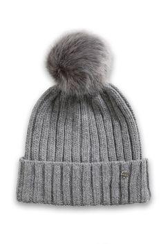 Ladies Bobble Hat Chunky Warm Winter Thermal Fleece Lined Pom Pom Popcorn Beanie