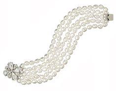 Grace Pearl Bracelet from Elizabeth Bower