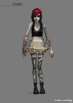 Suicide Room Character Design on Behance