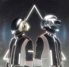 Arte em exposição da dupla Daft Punk | POLO CRIATIVO