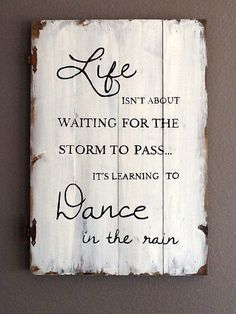 Large Distressed wood sign art - etsy shop, love this quote!