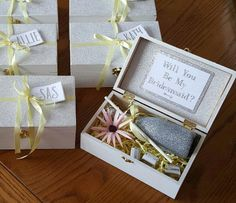Asking bridesmaids and your maid of honor to be a part of your bridal party can be a fun beginning task in the initial stages of wedding planning. Get creative! Have some fun with it! The following...