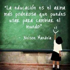 Frase para tener en cuenta cada día antes de entrar en nuestro aula.  http://www.mtgrupo.com/grupo-mt-deporte/