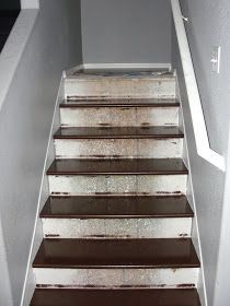 For years now I have seen many beautiful stair redos. People rip up the carpet and find pine stairs or mfd or oak. They cheer and say we can...