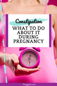 Not being able to poop (AKA constipation) is a common problem in pregnancy. Luckily there are a number of remedies you can use to help get things moving. All About Pregnancy, Pregnancy Advice, Plus Size Pregnancy, Pregnancy Health, First Pregnancy, Pregnancy Workout, Newly Pregnant, Pregnant Diet, Getting Pregnant