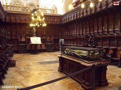 Coro de la catedral de Burgos. Felipe Bigarny.