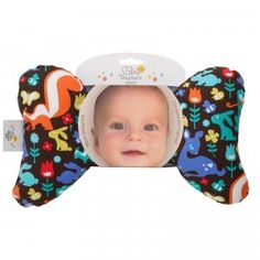 Baby Elephant Ears is a soft, portable headrest for babies.