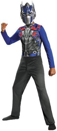 fe1bb653bc71 Fine Transformers Optimus Prime Boy's Costume. Creative ideas of Superhero  Costumes at CostumePub. Super