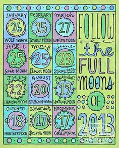 2013 Full moon board!