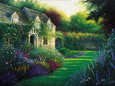 Garden Designs Pictures On English Country Cottages Creating Your Own Cottage Design