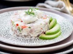 Snapper Tartare Recipe with Avocado - Viva