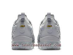 7482c66df7 Nike Air VaporMax Plus Triple Grey 924453_005 chaussures nike pas cher pour  homme Grey