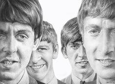 The Beatles by raulrk.deviantart.com on @deviantART