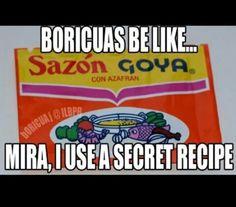 Boricuas be like ...