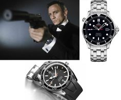 Makes me ToU ✨ Casino Royale – Omega Seamaster Planet Ocean / Omega Seamaster Diver - Daniel Craig Casino Royale, Gadget Watches, Cool Watches, Watches For Men, Men's Watches, Omega Seamaster Diver 300m, Omega Seamaster Planet Ocean, Omega Speedmaster, Rolex Submariner