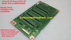 Sony XBR65X900B / LED Driver Board: 14ST032M-A01 / Troubleshooting Tip #Sony