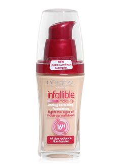Sensitive Skin - Foundation for Pale Skin- Foundation Picks for RedheadsL'Oreal Paris Infallible Foundation in Soft Ivory and Classic Ivory. $15 Its formula is really long lasting, gives a full coverage and properly covers under eye circles. Featured Product: L'Oreal Paris Infallible Foundation