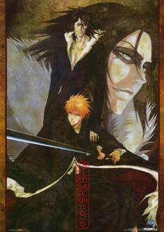Ichigo and Zangetsu from the show Bleach