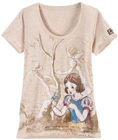 LABEL 23 Donne Da Donna Sport T-Shirt Fitness Sportswear Shirt Retrò Beige
