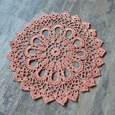 Christmas doily Gift Crochet doily lace doilies by DoilyWorld, £4.50