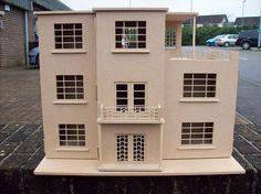 Art Deco dolls house...Dolls Houses, Dolls House Kits, 1:12th, 1:24th, Dolls House Accessories - The Dolls House Builder