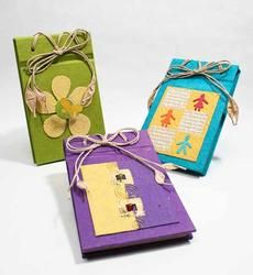 Handmade Paper Crafted Small Scrapbook Photo Album