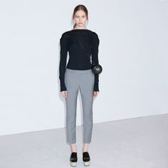 FWSS cropped pants. Liker! Fall Winter Spring Summer, Fall 2015, Cropped Pants, Trousers, Normcore, Shopping, Fashion, Trouser Pants, Moda