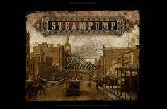 Steampump-steampunk-web-design http://www.historyupclose.com.au/STEAMPUMP2010_Home.htm