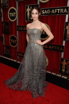 Emmy Rossum @ the 2015 Screen Actors Guild Awards