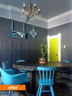 Before & After: Cheltz & Woo's Discarded Spool to Dining Table