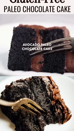 Healthy Chocolate Desserts, Gluten Free Chocolate Cake, Healthy Sweets, Healthy Dessert Recipes, Chocolate Recipes, Avacado Chocolate Cake, Healthy Birthday Desserts, Easy Moist Chocolate Cake, Paleo Cake Recipes