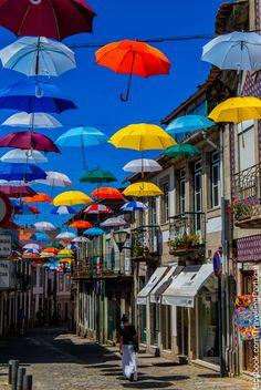 Vila_Nova_de_Cerveira_Umbrellas by turismoenportugal