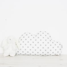 Black and White Mountain Coussin peluche oreiller Monochrome Room Decor Baby Nursery