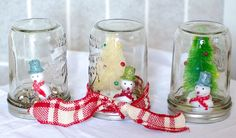 Snowmen and Mason Jars - What's not to love! #diy