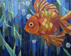 Mosaic Fish by murlist, via Flickr