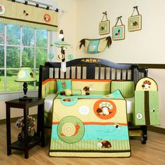 Garden Paradise 13-piece Crib Bedding Set | Overstock.com Shopping - Big Discounts on Geenny Bedding Sets