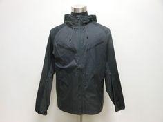 Mens Nike NSW Ripstop Tech Running Hoody Jacket sz S Small NEW Full Zip Black #Nike #BasicJacket #tcpkickz