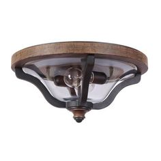 Ashwood Textured Black Two Light Outdoor Flushmount Flush Mount Outdoor Ceiling Lighting