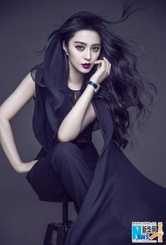 Fan Bingbing poses for Marie Claire