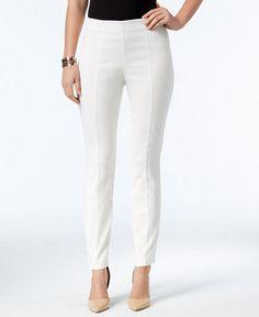 Alfani Jacquard Pull-On Skinny Pants, Only at Macy's